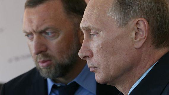 Минфин США увязал бизнес Дерипаски с «деньгами Владимира Путина»