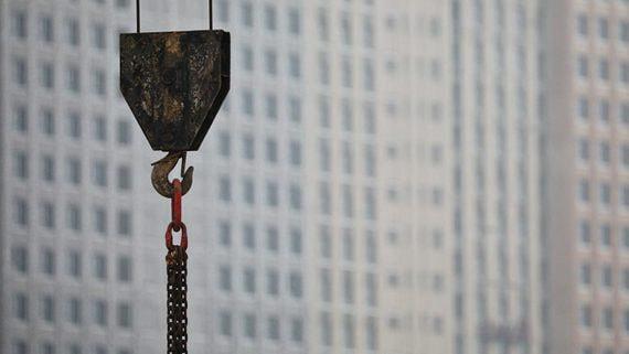 Жилищное строительство в России начало снижаться