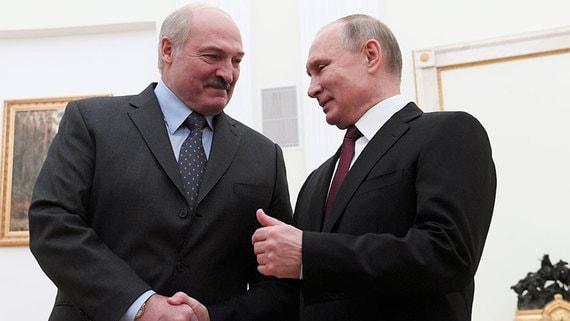 Лукашенко рассказал о предложении Путина выплатить Белоруссии $300 млн