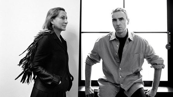 Раф Симонс стал вторым креативным директором Prada