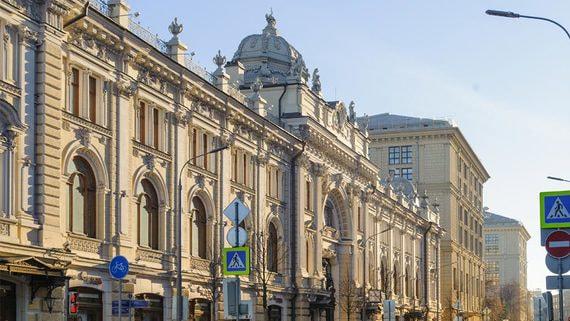 «Абсолют банк» продаст часть комплекса Сандуновских бань в центре Москвы