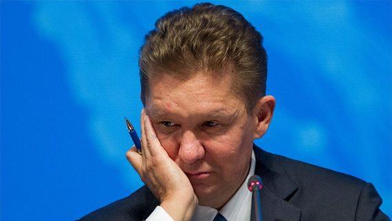 Экспортная выручка «Газпрома» в январе рухнула на 40%