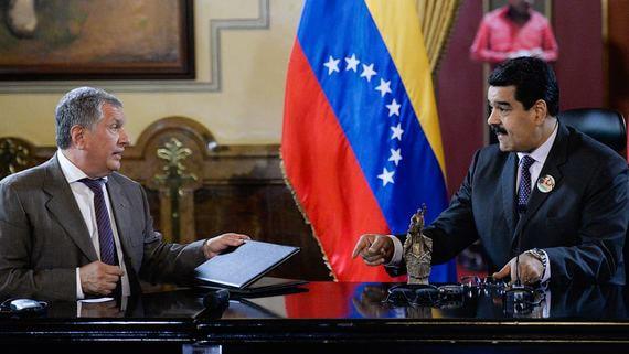 «Роснефть» продала правительству России венесуэльские активы