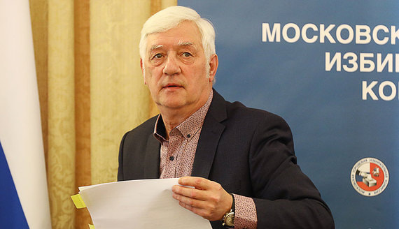 Умер бывший председатель Мосгоризбиркома Валентин Горбунов