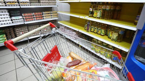 Из-за ажиотажного спроса на продукты цены продолжают расти