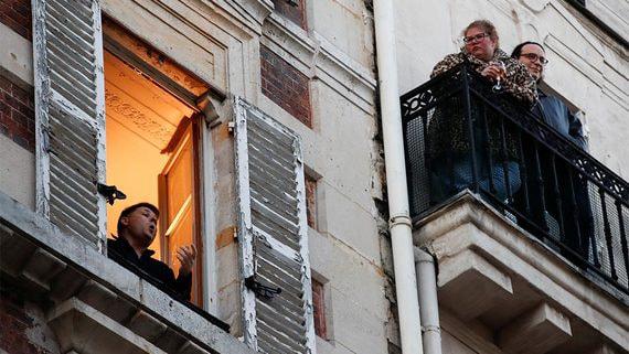 Карантин в Париже: свежий воздух и изобилие продуктов