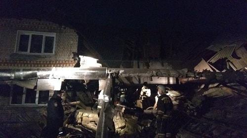 В Нижегородской области в жилом доме взорвался газовый баллон