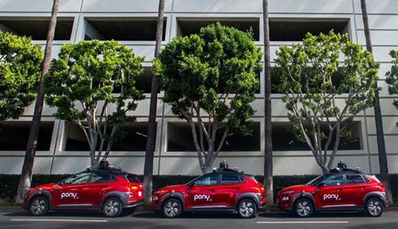 Самоуправляемые автомобили будут доставлять онлайн-заказы в Калифорнии
