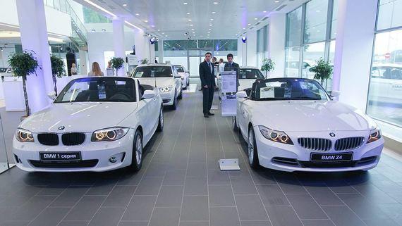 BMW в России переводит продажи автомобилей в онлайн
