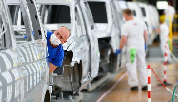 Автопроизводители начали перезапуск заводов в Европе