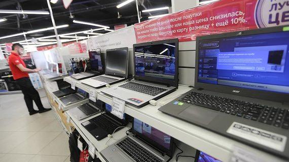 В России резко выросли продажи компьютеров