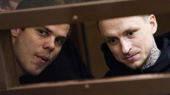 Мосгорсуд пересмотрит приговор футболистам Кокорину и Мамаеву в июне