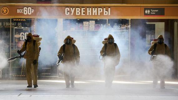 В России за сутки выявлено более девяти тысяч больных коронавирусом