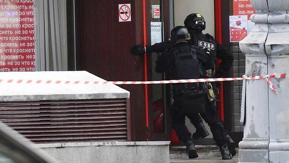 СМИ рассказали о личности захватчика отделения банка в Москве