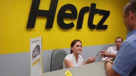 Один из крупнейших сервисов аренды автомобилей Hertz объявил о банкротстве