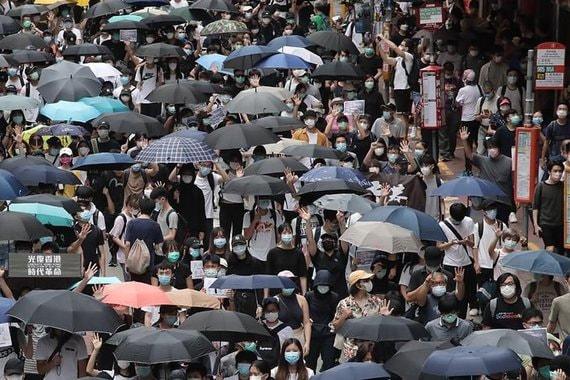 В Гонконге возобновились массовые протесты