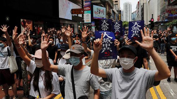 Санкции США не остановят Пекин в продвижении закона о нацбезопасности Гонконга