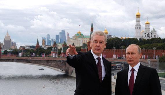 Собянин предложил разрешить москвичам с 1 июня гулять по графику