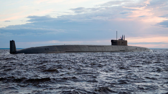 «Севмаш» сдал флоту атомный ракетоносец «Князь Владимир»