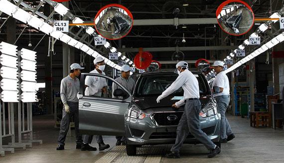 Nissan уводит из России автомобили Datsun