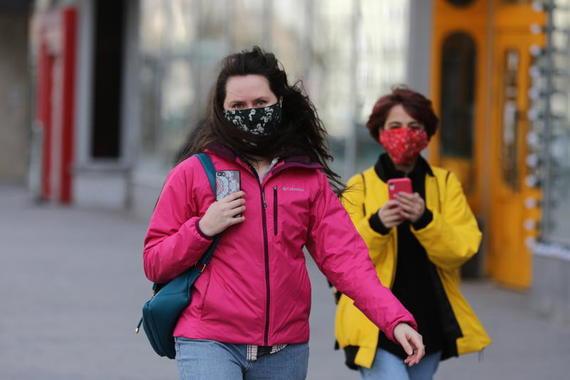 Число больных коронавирусом в России превысило 400 000 человек