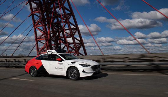 «Яндекс» представил беспилотный автомобиль на базе Hyundai Sonata