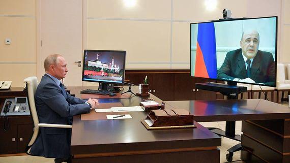 Путин и Мишустин обсудили план восстановления экономики