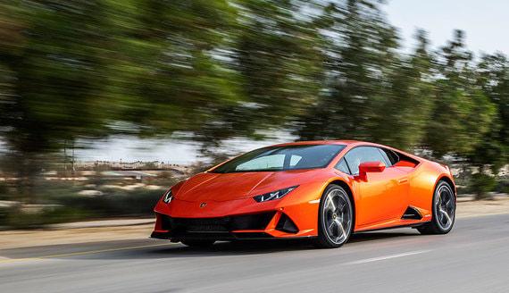 Lamborghini Huracan Evo: Урок игры на акселераторе