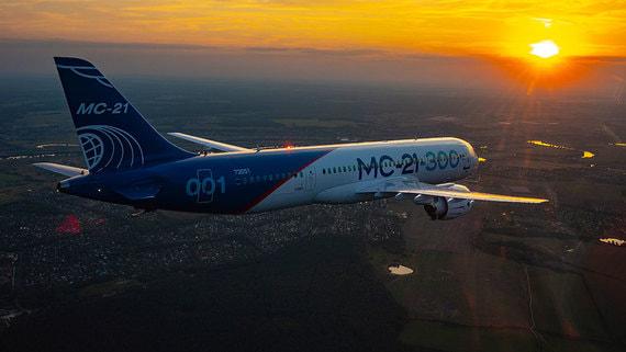 Сертификация российского среднемагистрального лайнера МС-21 отложена на 2021 год