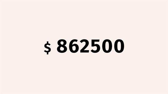 $862 500 за побег