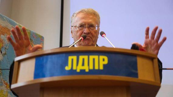Жириновский пригрозил уходом ЛДПР из Госдумы из-за задержания Фургала