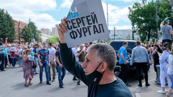 Арест хабаровского губернатора привел к самым массовым за последние годы протестам в регионе
