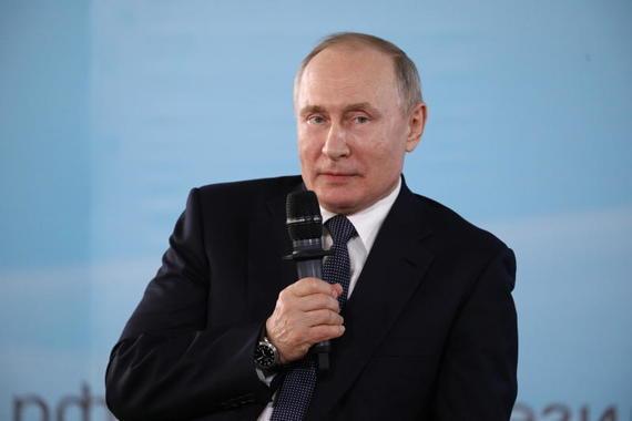 Путин: ухудшение отношений России и Украины не связано с присоединением Крыма
