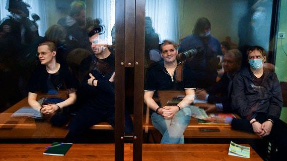 Прокуратура запросила реальные сроки для трех участников «Нового величия»