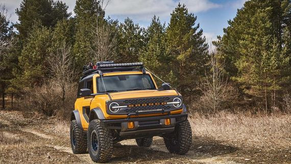 Ford начала ревизию модельного ряда с возрождения внедорожника Bronco