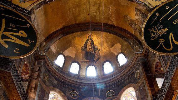 Решается судьба мозаик Святой Софии