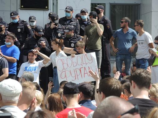 Сергея Фургала держат в неведении об акциях в его поддержку в Хабаровске