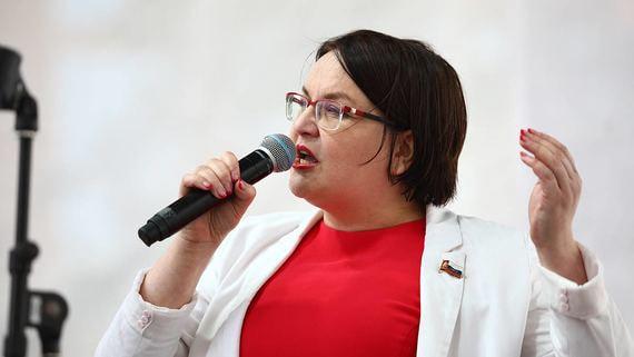 Суд оштрафовал Галямину на 200 000 рублей за пикет в поддержку Азара
