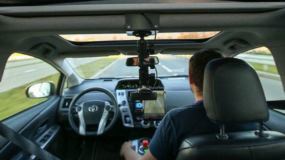 Минтранс назвал срок запуска сервиса беспилотных такси в Москве