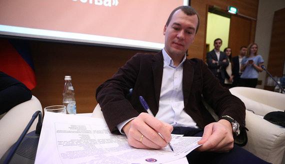 Кремль объяснил выбор Дегтярева на пост врио хабаровского губернатора