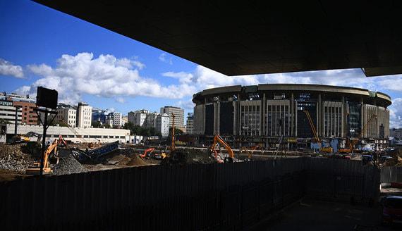 В Москве сносят СК «Олимпийский». Фотографии