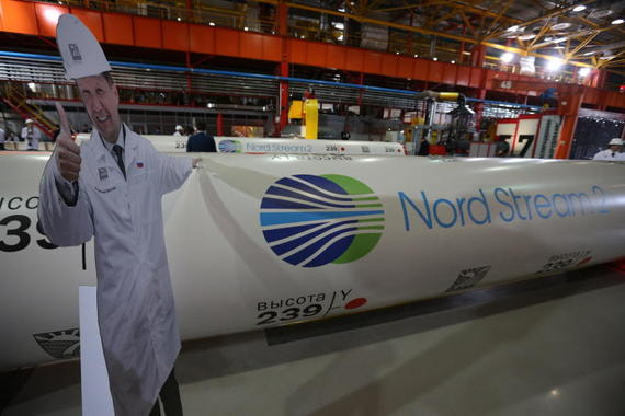 Трубоукладчик для «Северного потока – 2» исчез из отчетности «Газпрома»