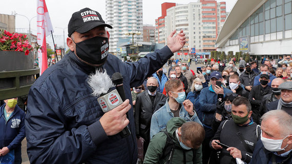 СК Белоруссии связал задержанных россиян с соперником Лукашенко на выборах