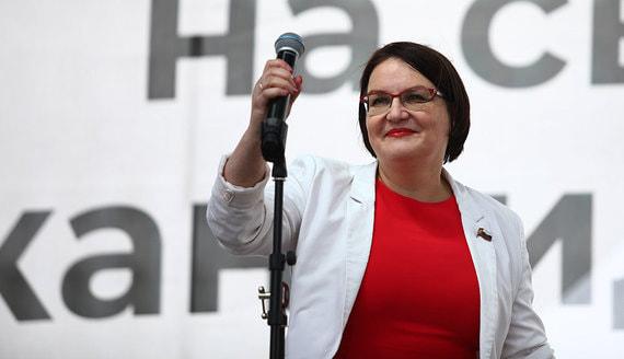 СК завел уголовное дело на депутата Галямину за нарушения на митингах