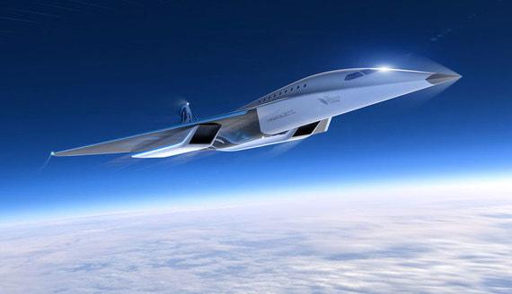 Virgin Galacticи Rolls-Royce разработают сверхзвуковой пассажирский самолет. Фотографии