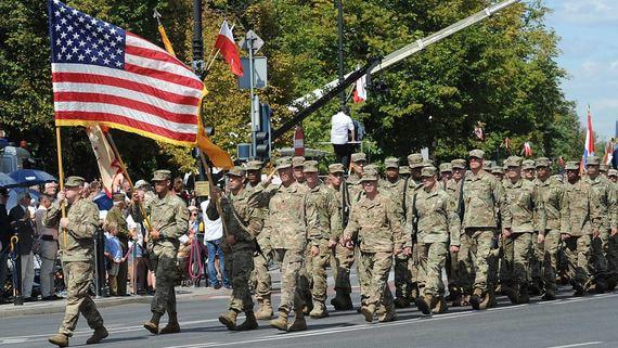 В Польше разместят 1000 дополнительных американских солдат