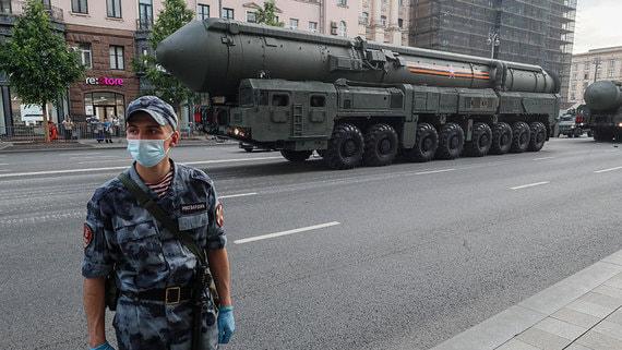 В Генштабе назвали условие применения ядерного оружия