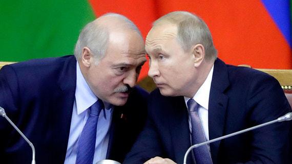 Путин обсудил с Лукашенко задержание россиян в Минске