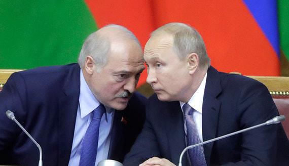 Лукашенко заявил про письмо Путина о задержанных россиянах
