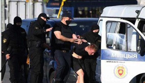 В Белоруссии начались задержания на акциях протеста